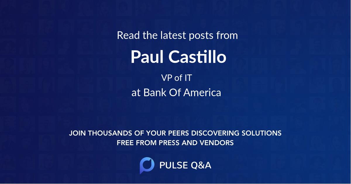 Paul Castillo