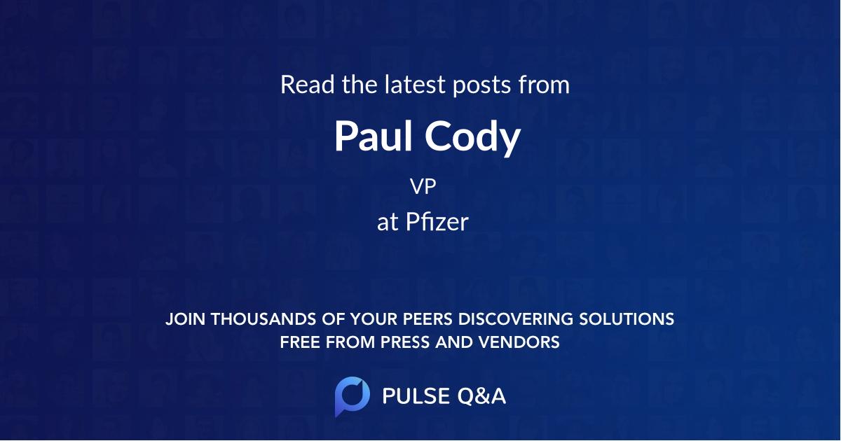 Paul Cody
