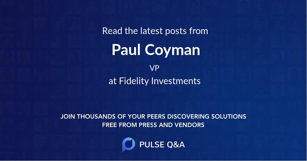 Paul Coyman