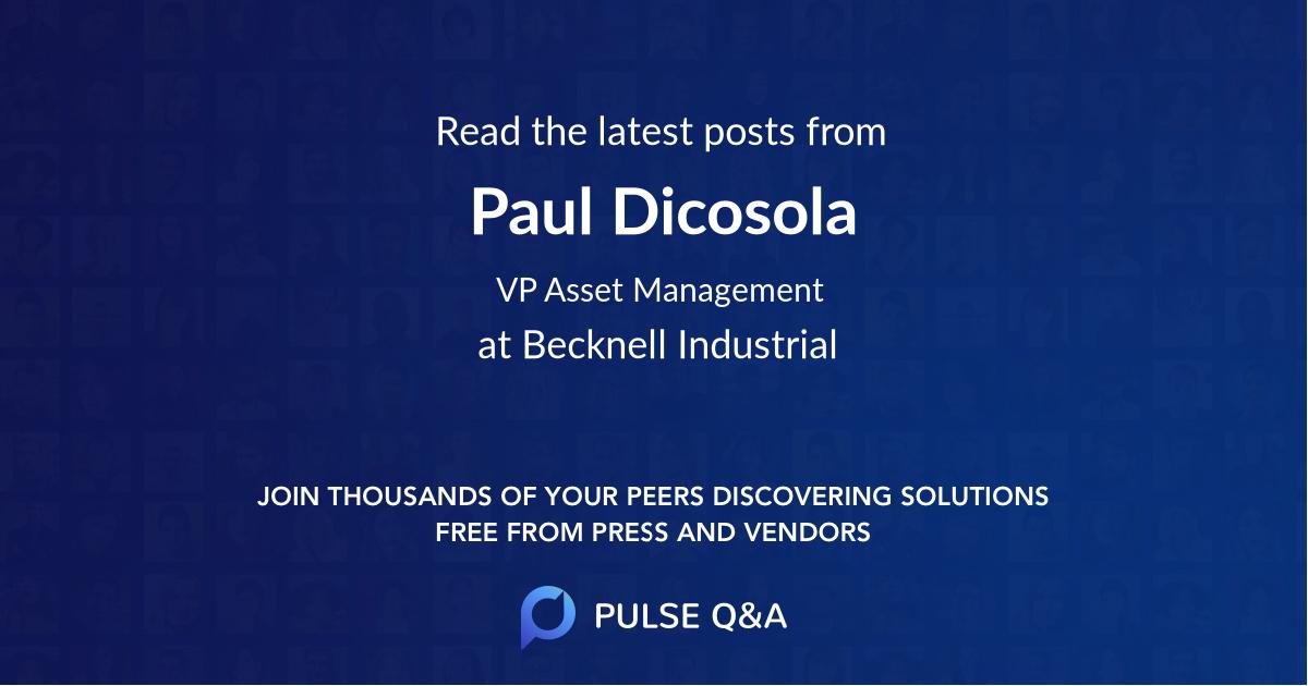 Paul Dicosola