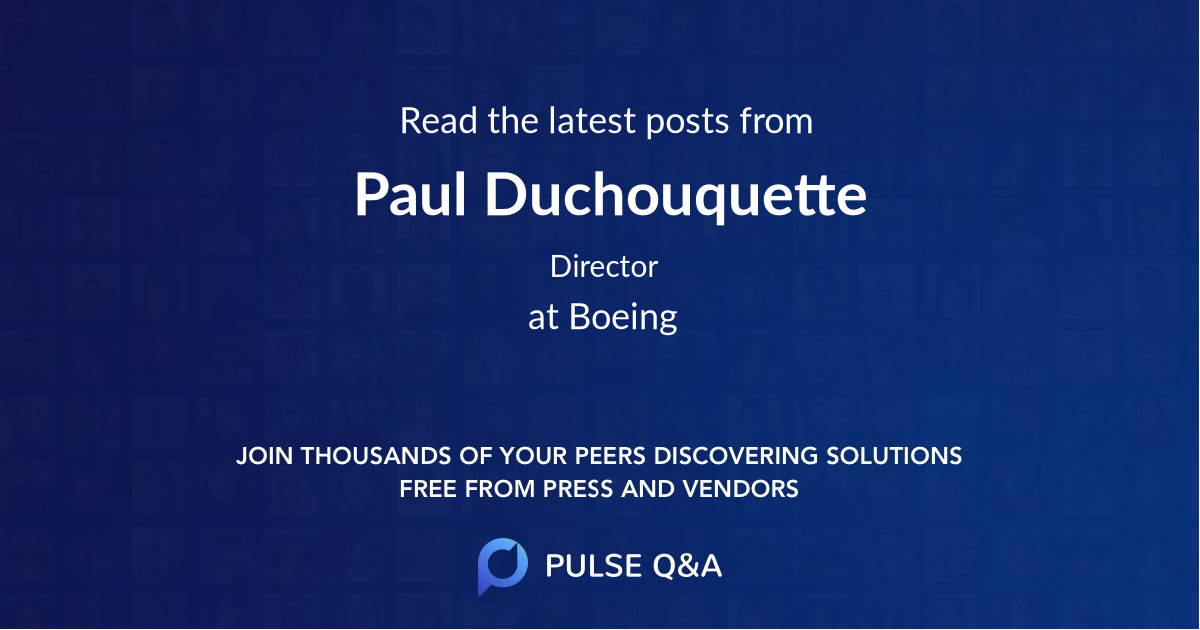 Paul Duchouquette