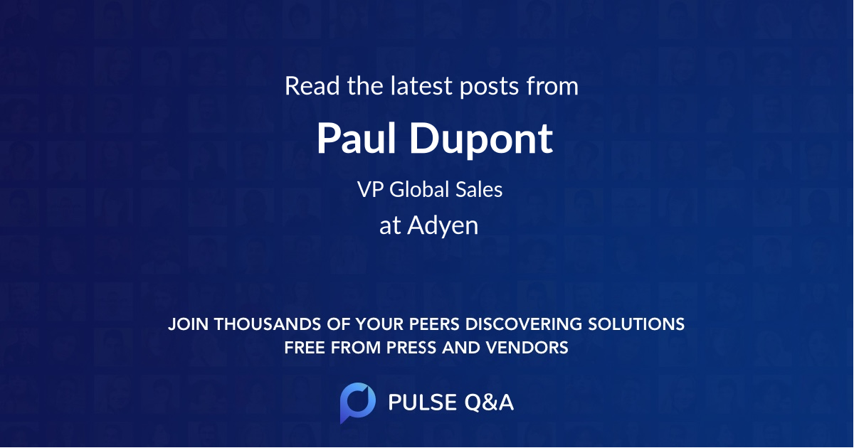 Paul Dupont