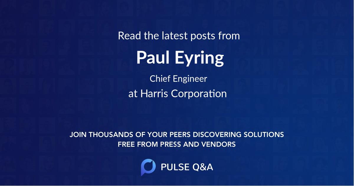 Paul Eyring