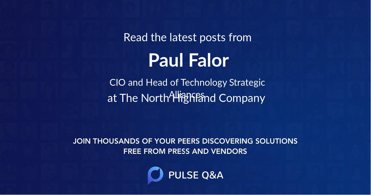 Paul Falor