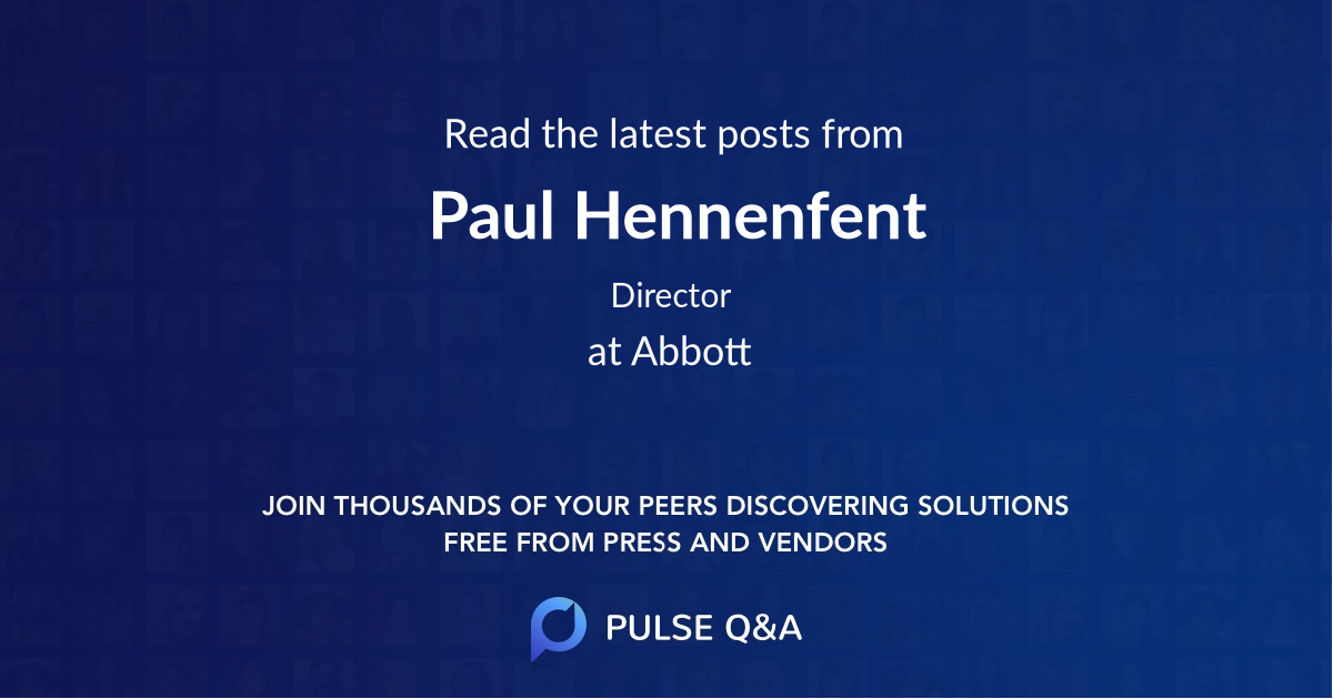 Paul Hennenfent