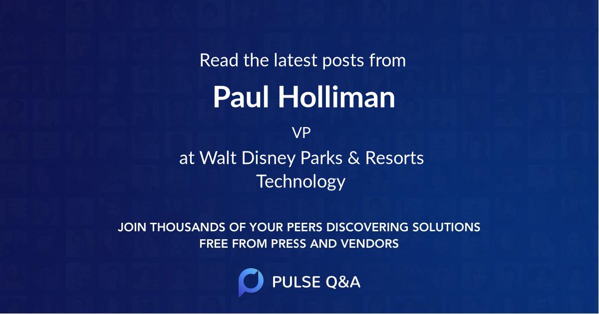 Paul Holliman