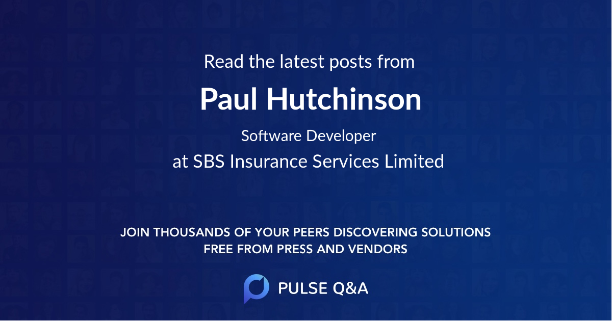 Paul Hutchinson