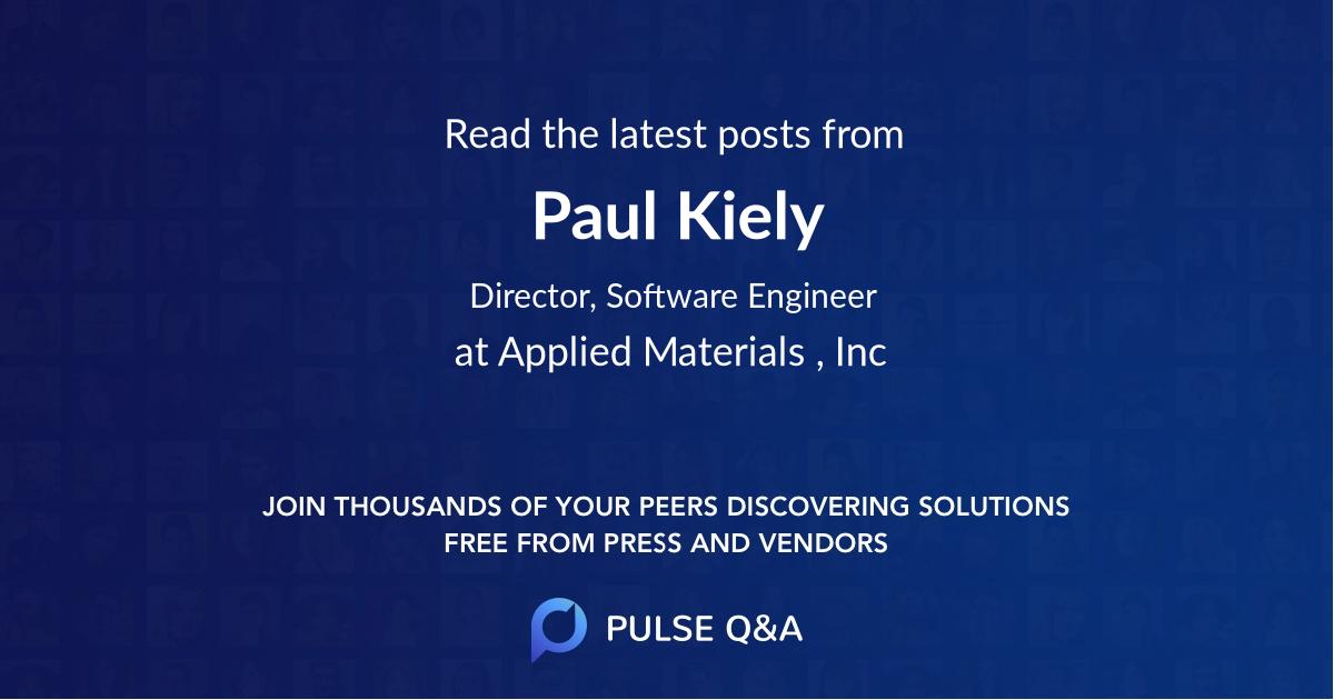 Paul Kiely