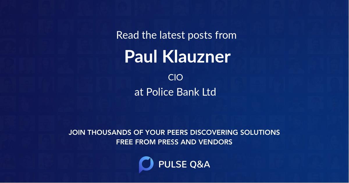 Paul Klauzner