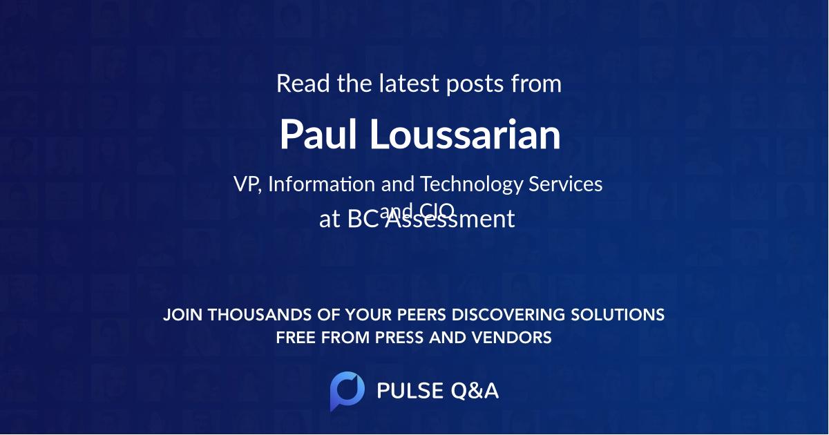 Paul Loussarian