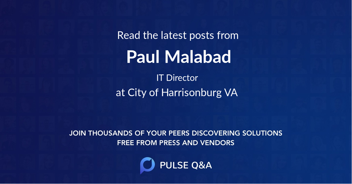 Paul Malabad