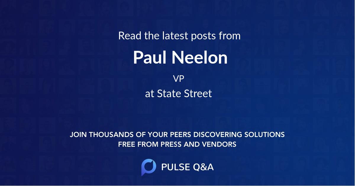 Paul Neelon
