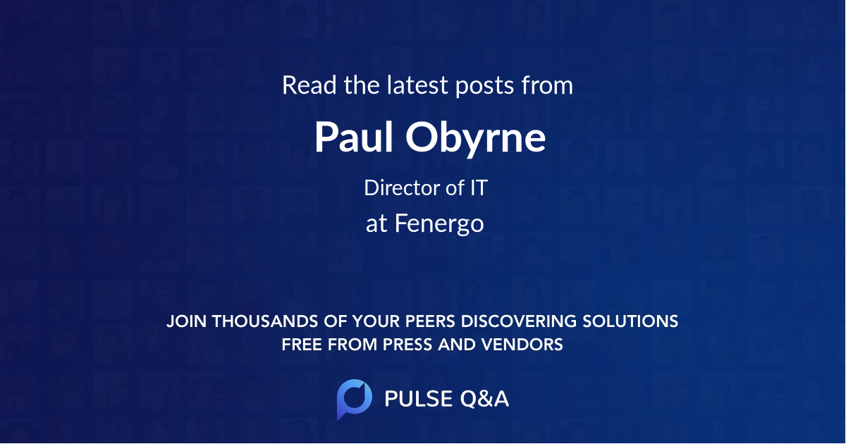 Paul Obyrne