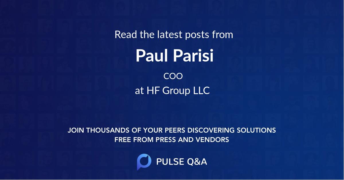 Paul Parisi