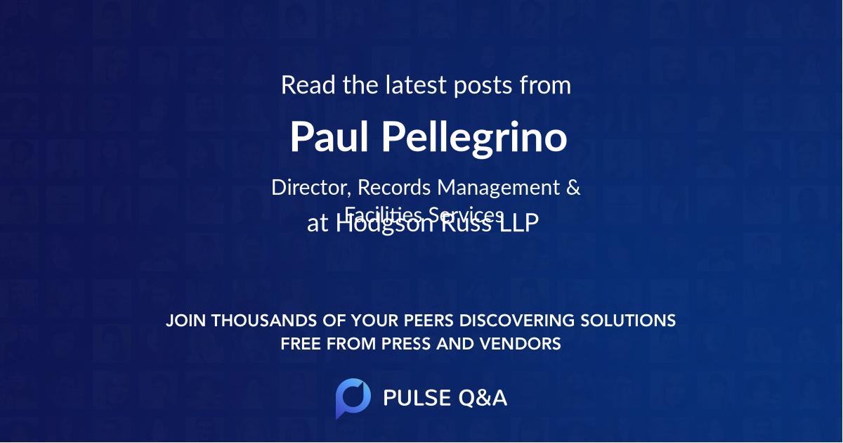 Paul Pellegrino