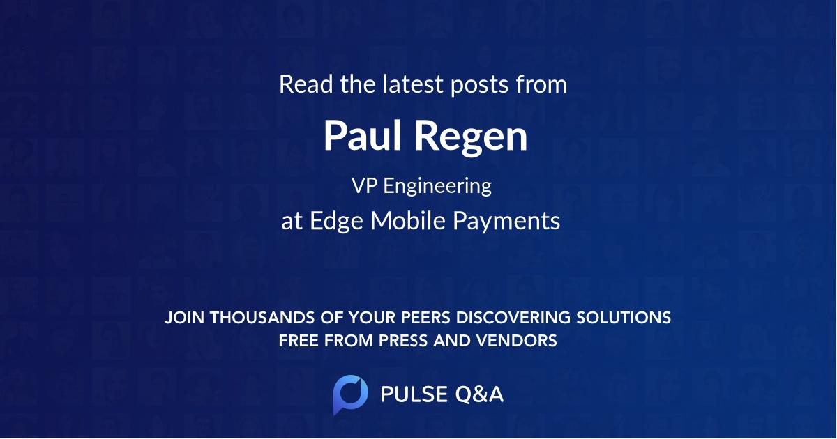Paul Regen