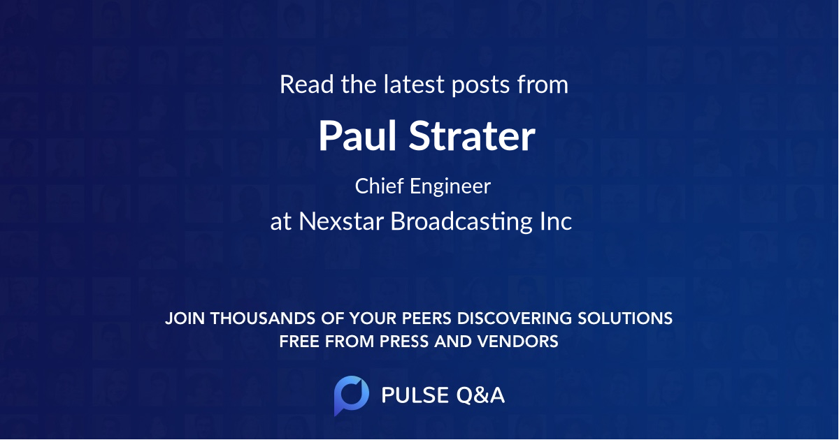 Paul Strater