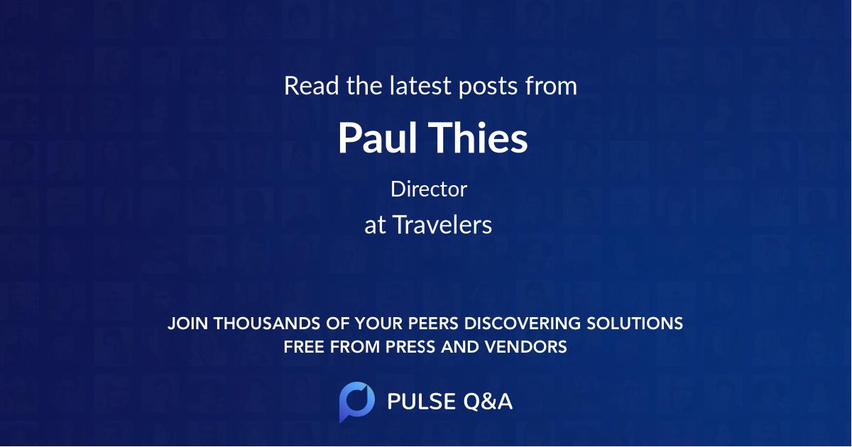Paul Thies