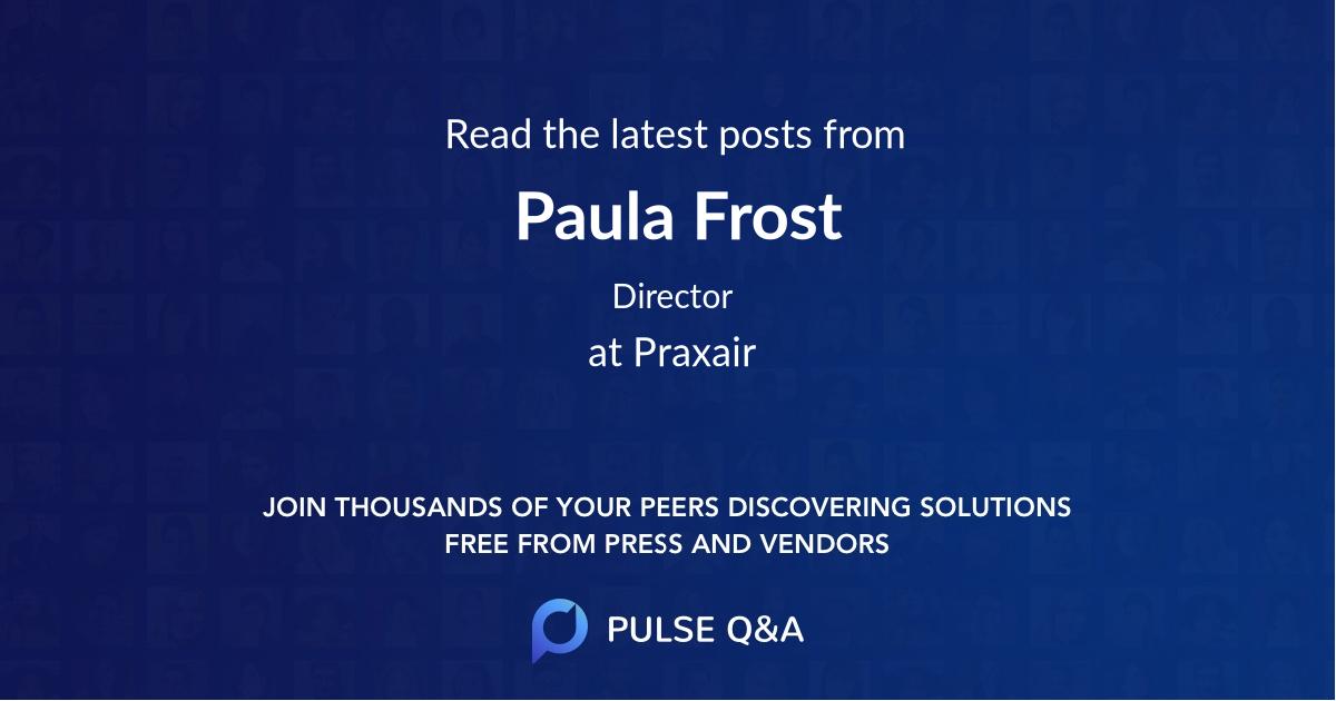 Paula Frost