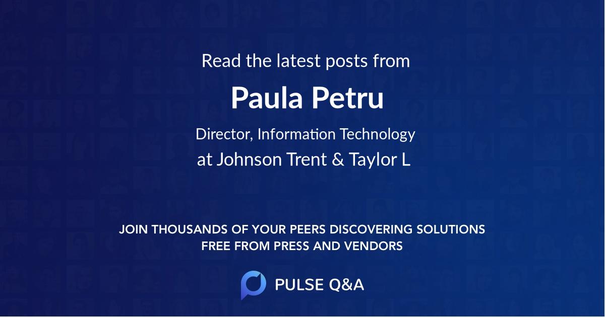 Paula Petru