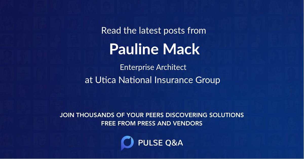 Pauline Mack
