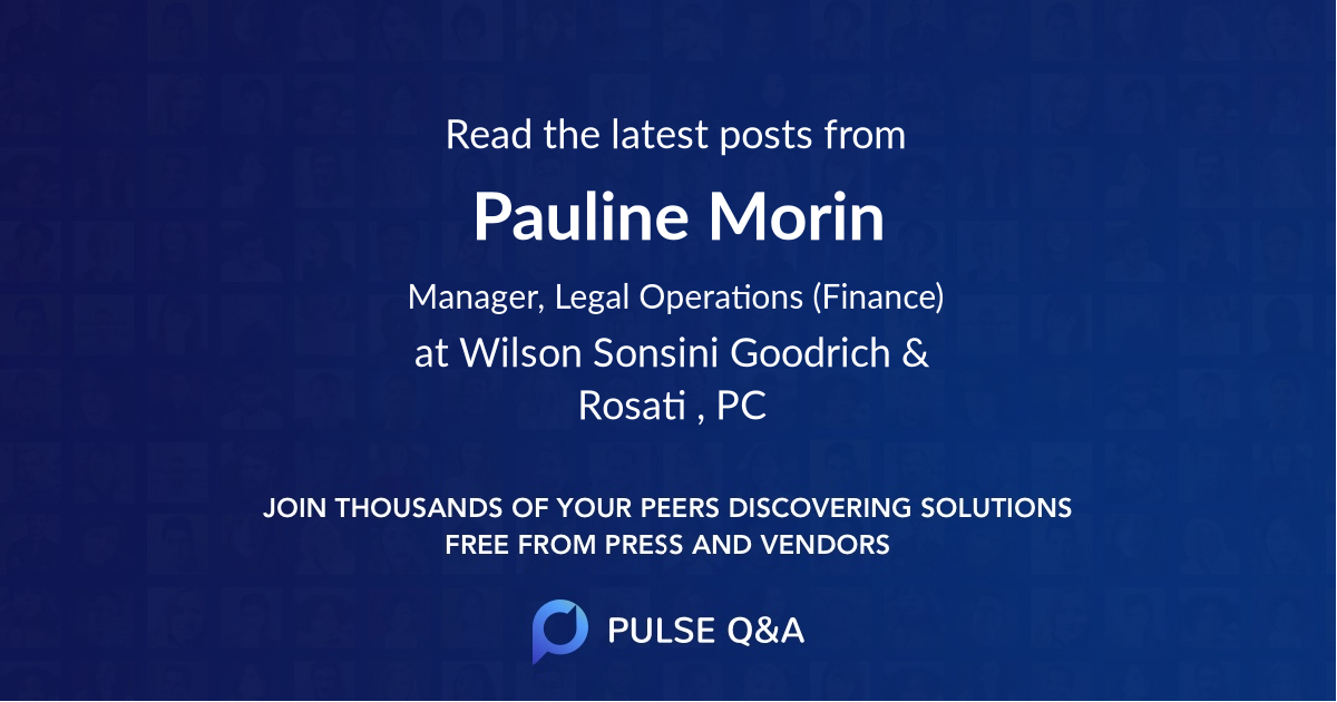 Pauline Morin