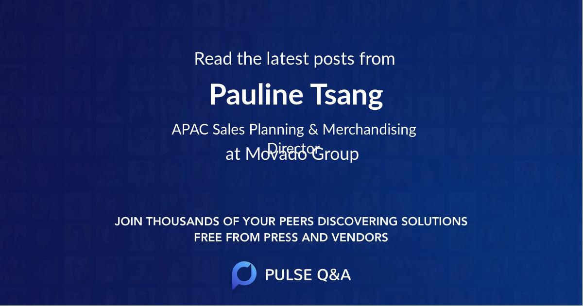 Pauline Tsang