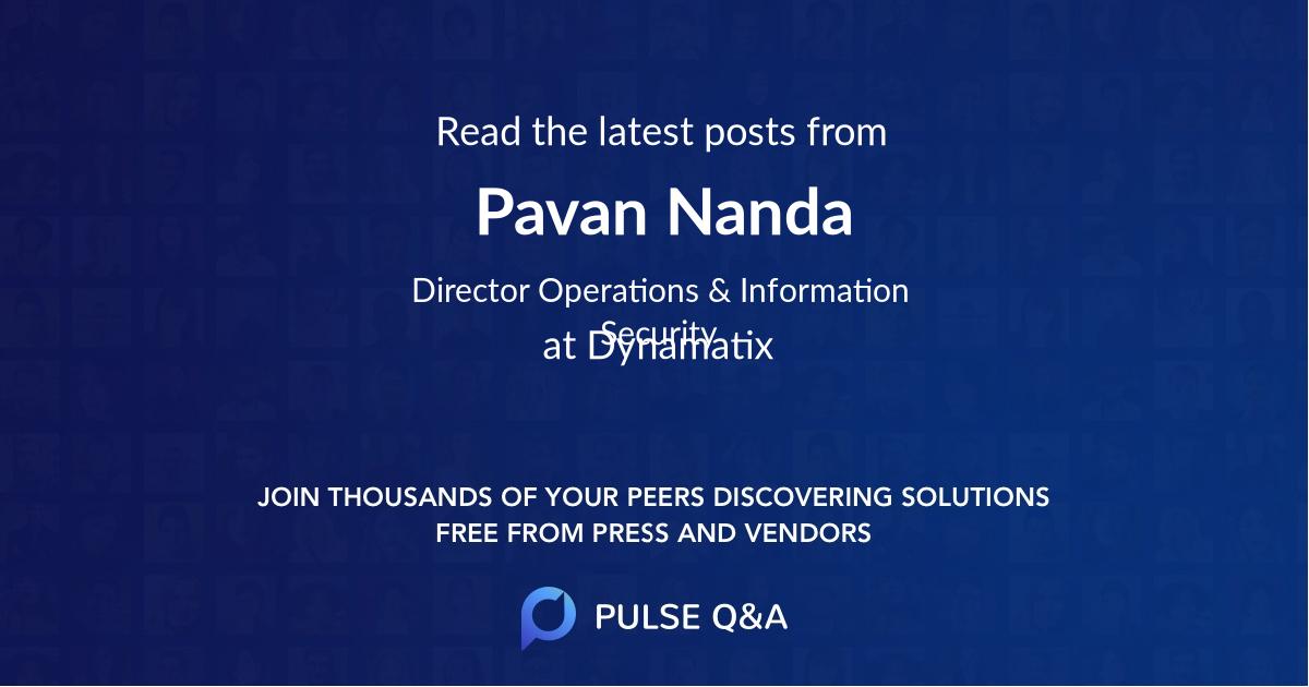 Pavan Nanda