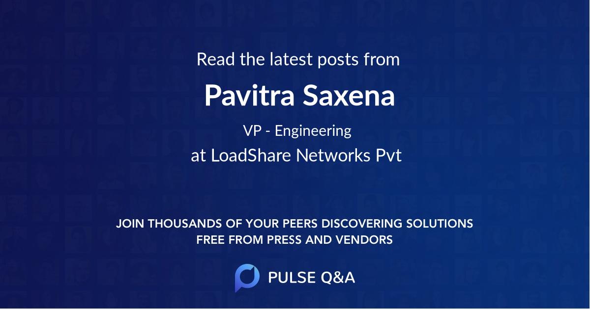 Pavitra Saxena