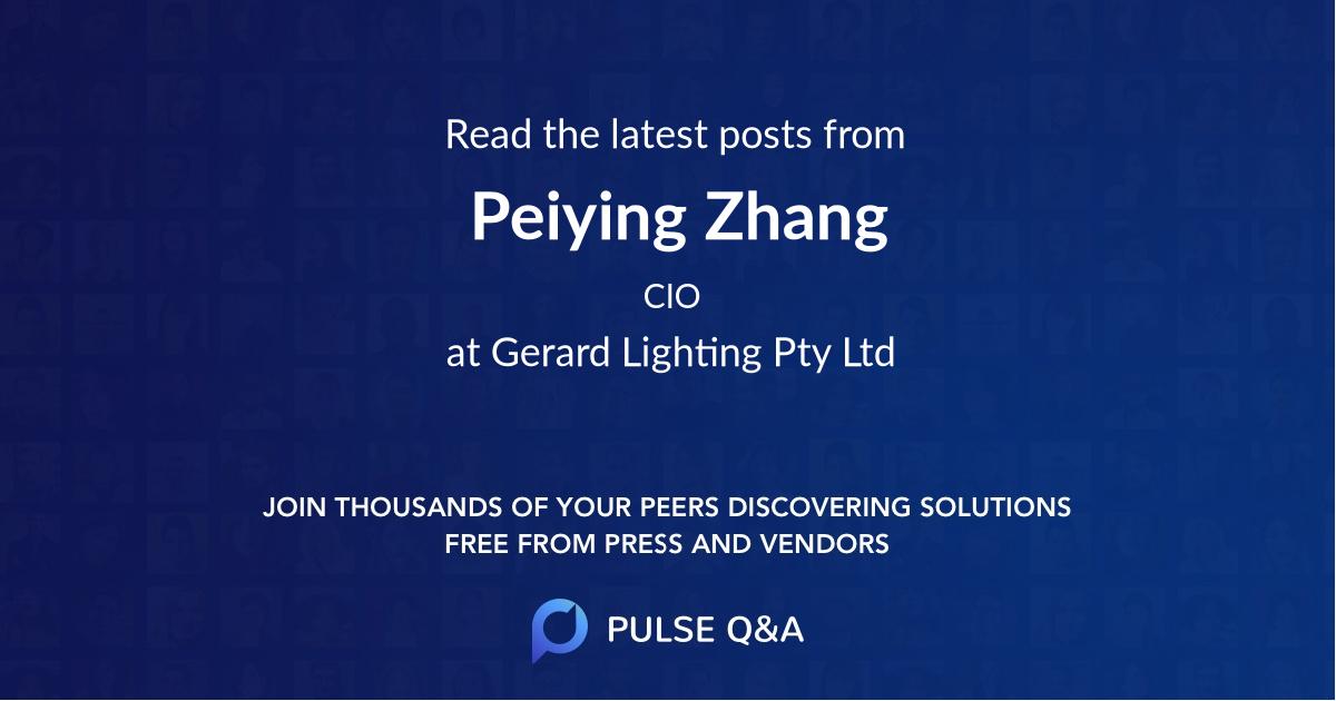 Peiying Zhang