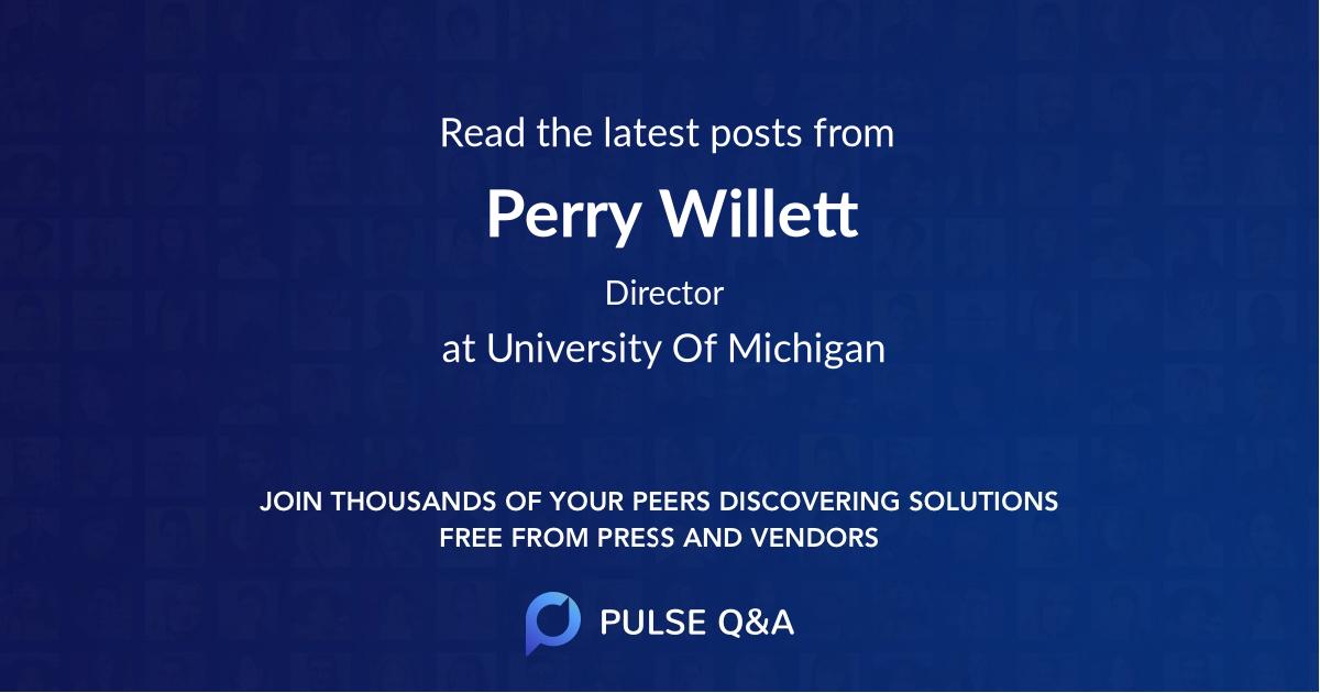 Perry Willett