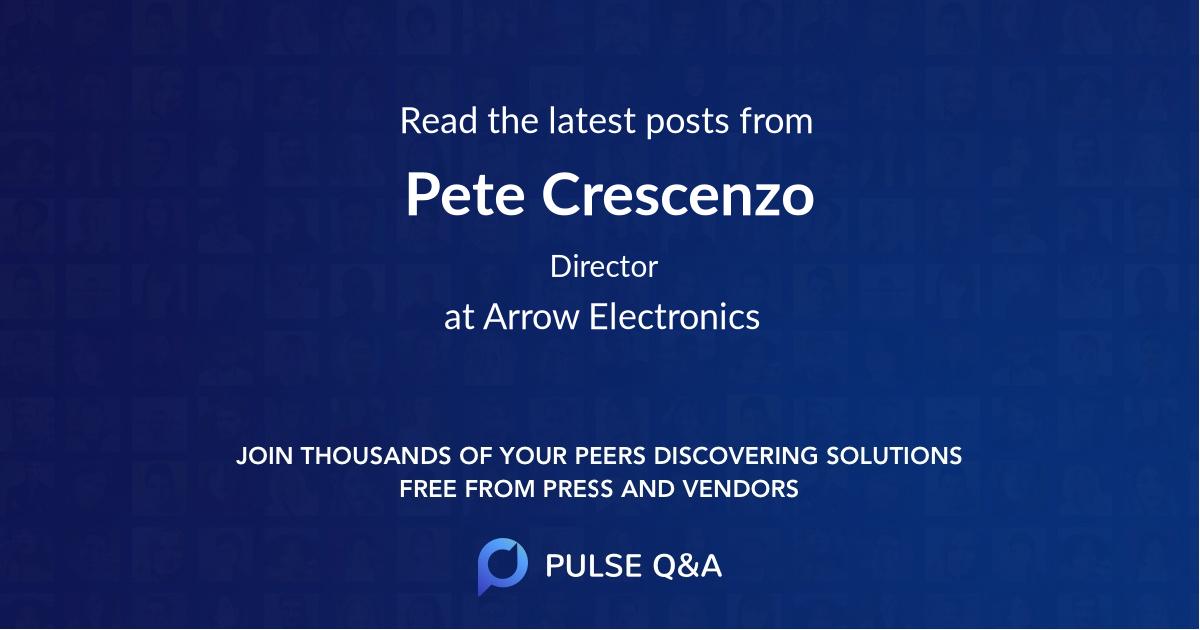Pete Crescenzo