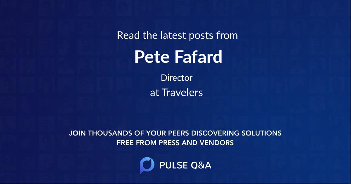 Pete Fafard