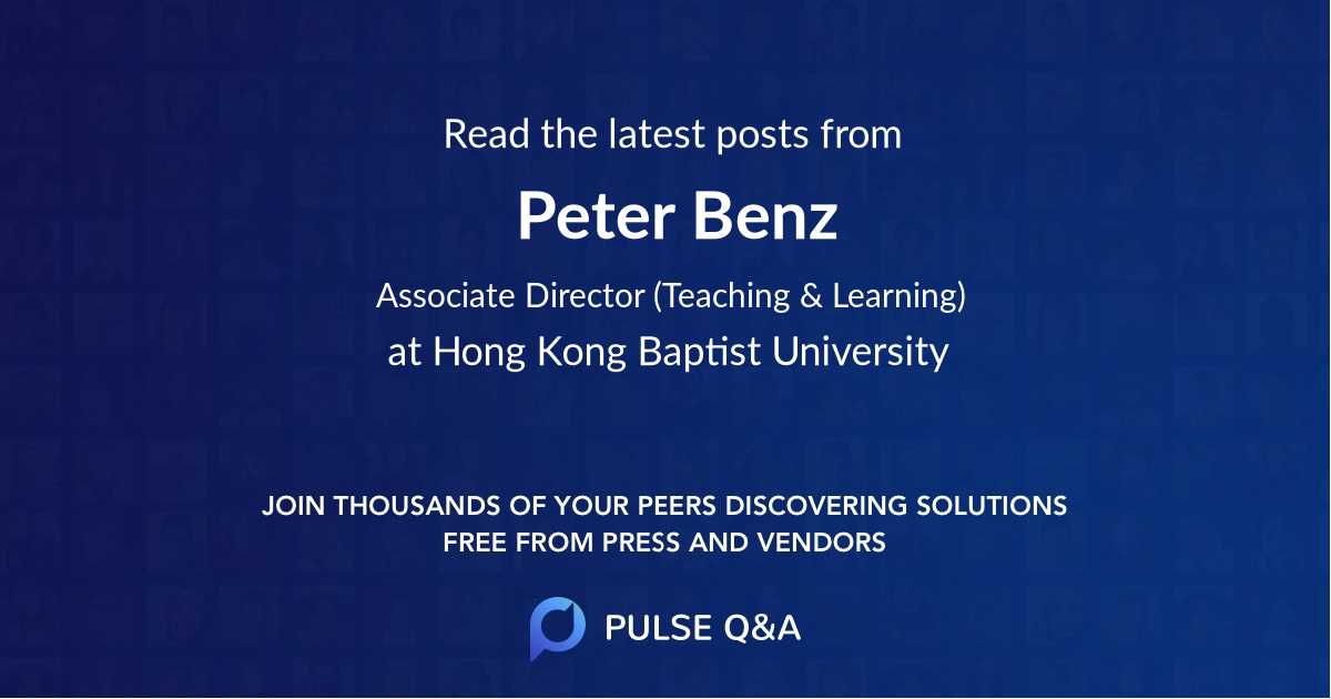 Peter Benz