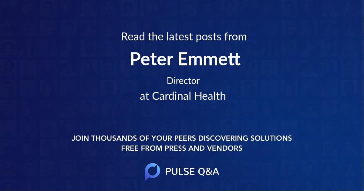 Peter Emmett