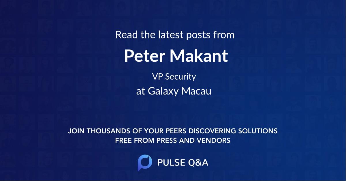 Peter Makant