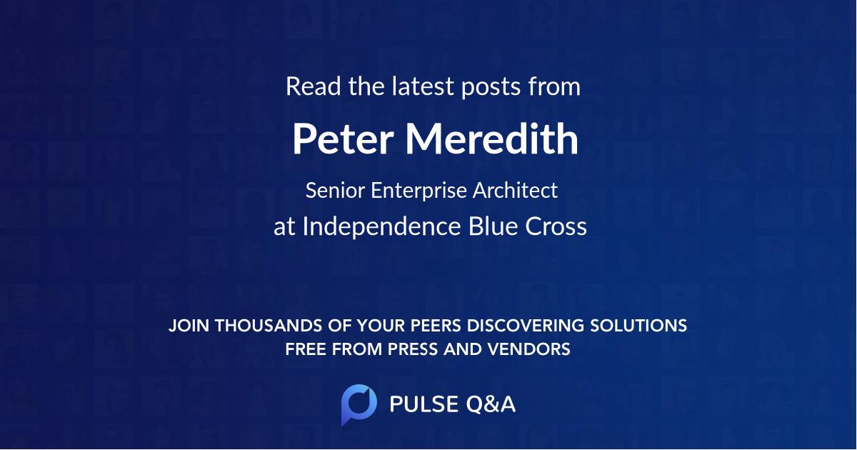 Peter Meredith