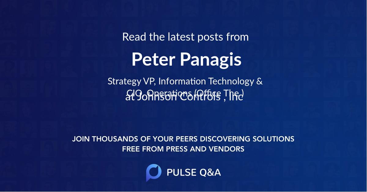 Peter Panagis