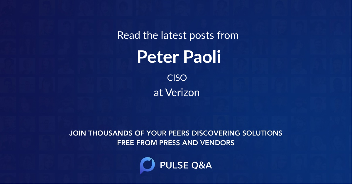 Peter Paoli