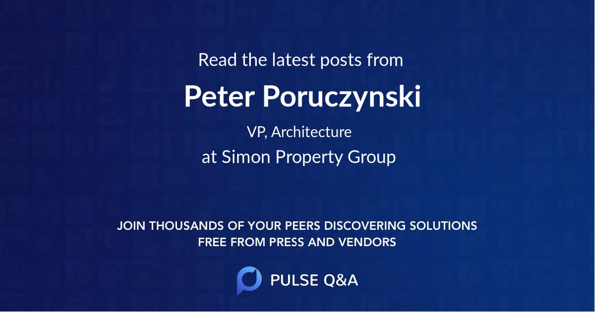 Peter Poruczynski