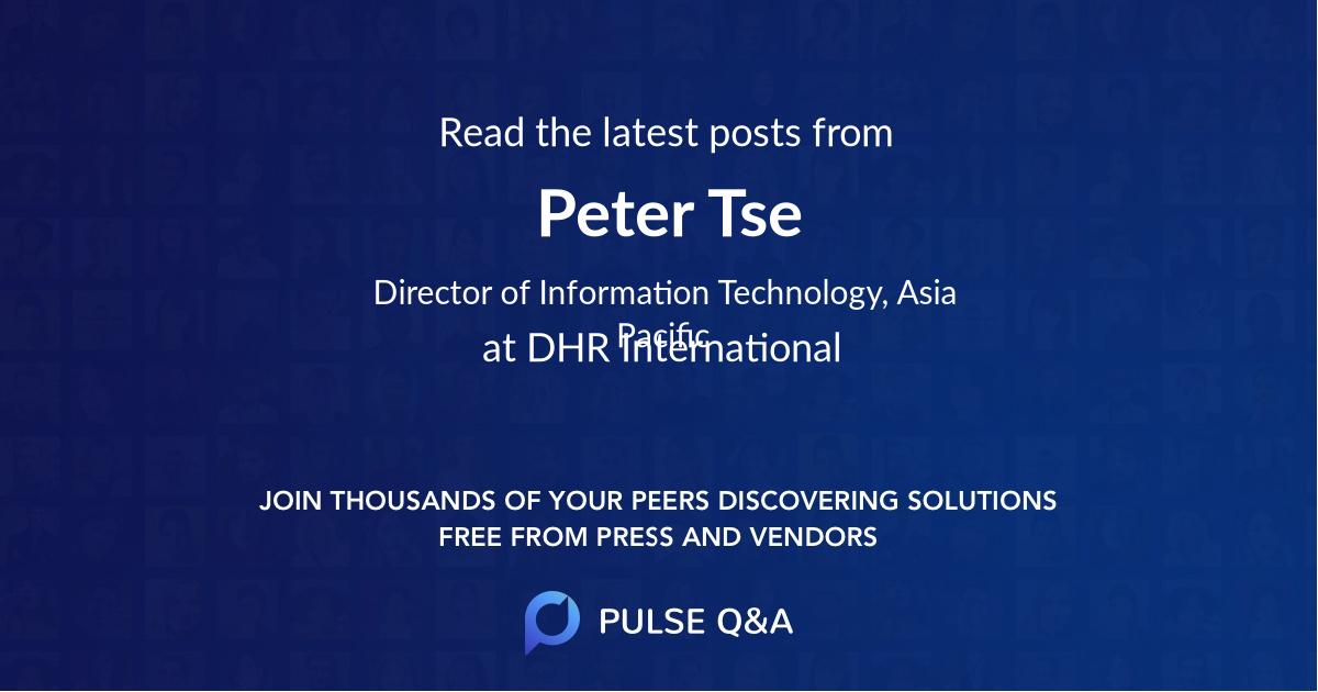 Peter Tse