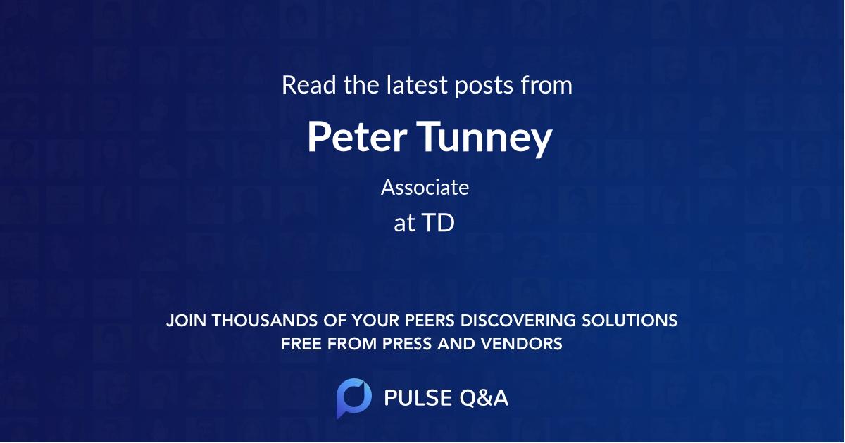 Peter Tunney