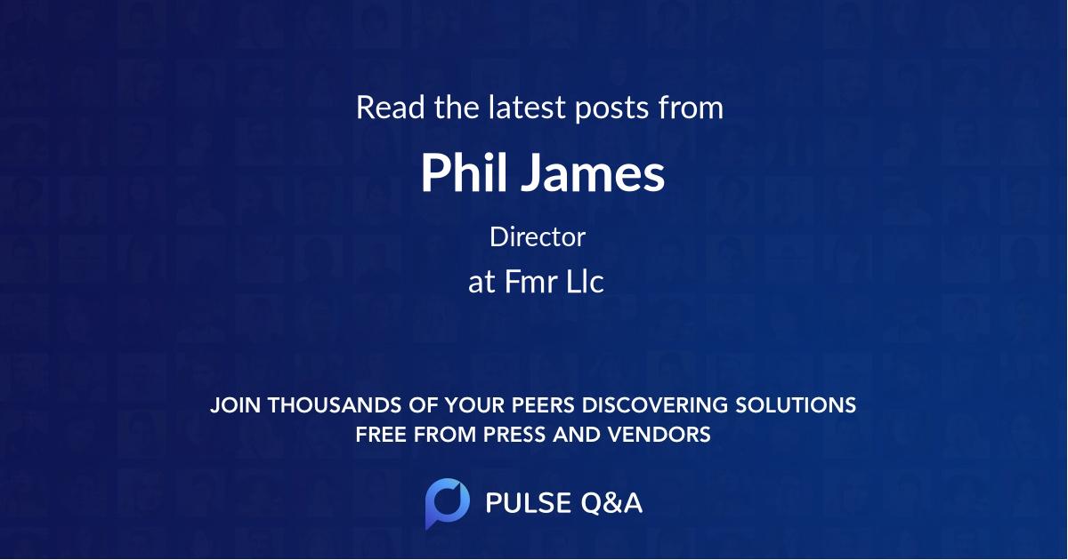 Phil James