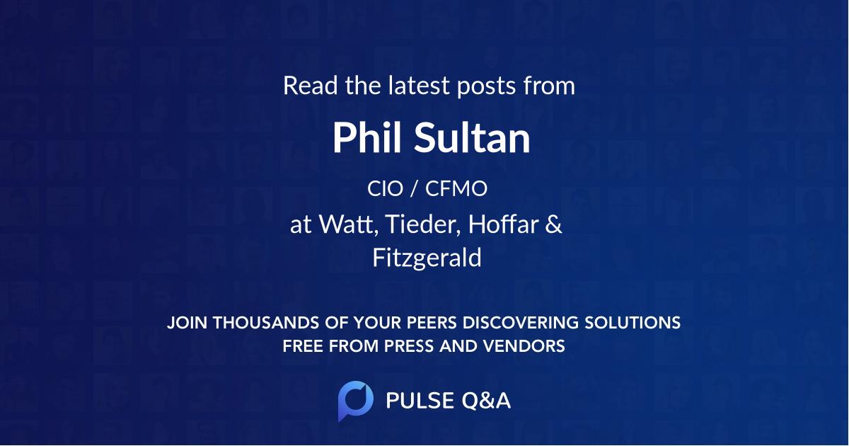 Phil Sultan