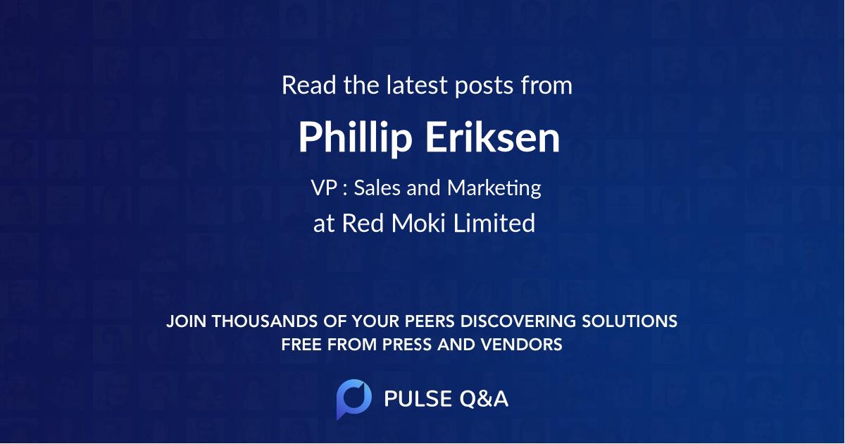 Phillip Eriksen