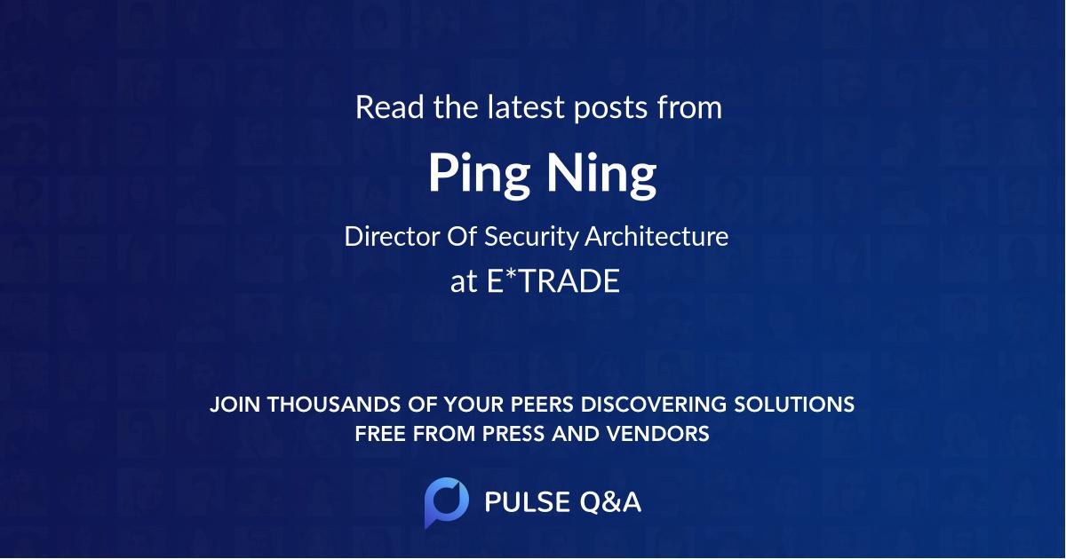 Ping Ning