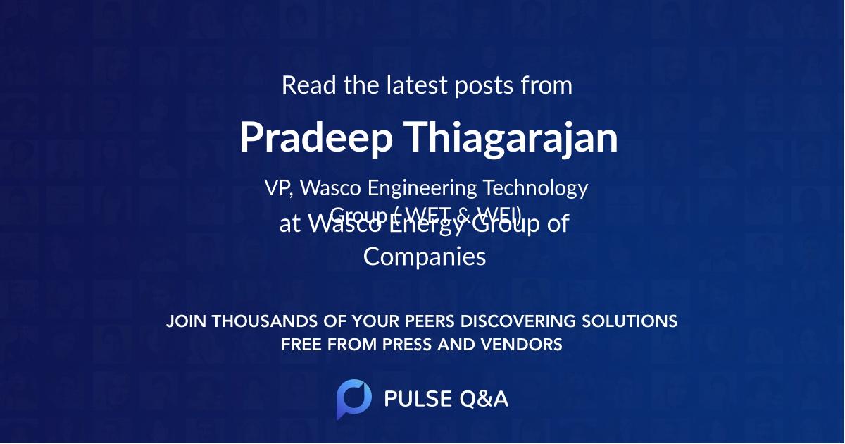 Pradeep Thiagarajan