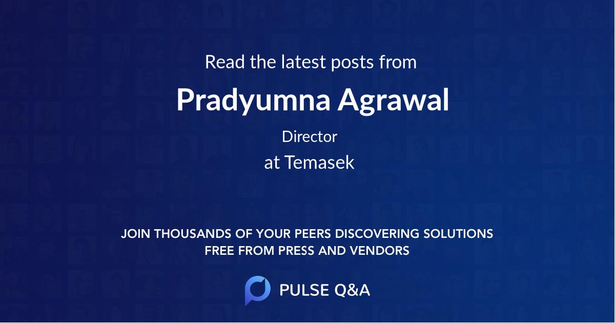 Pradyumna Agrawal