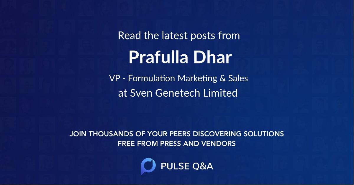 Prafulla Dhar