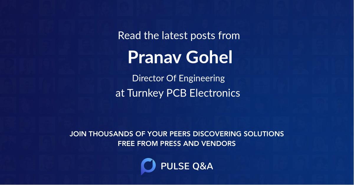 Pranav Gohel